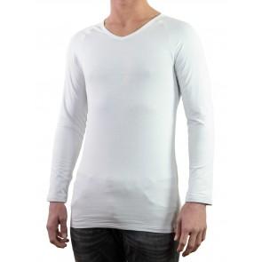 Silvershirt à manches longues et encolure en V