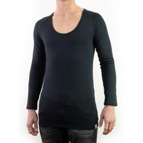 Silvershirt à manches longues et encolure ronde