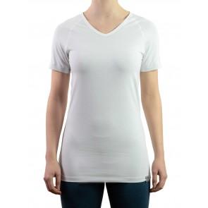 Silvershirt kurzarm V-Ausschnitt